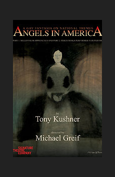 Angels in America: Perestroika, Peter Norton Space at Signature Theatre Company, NYC Show Poster