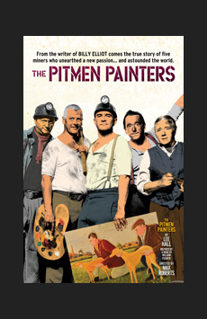 The Pitmen Painters, Samuel J Friedman Theatre, NYC Show Poster