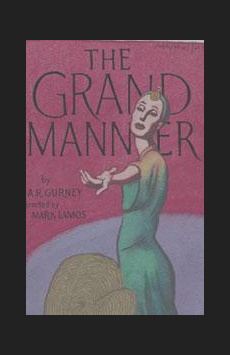 The Grand Manner, Mitzi E. Newhouse Theater, NYC Show Poster