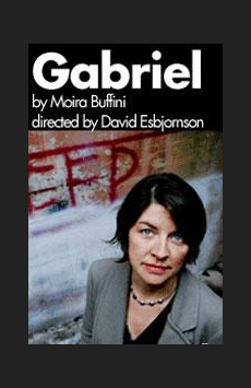 Gabriel, Atlantic Theater Company, NYC Show Poster