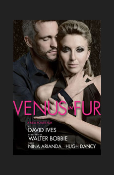 Venus in Fur, Lyceum Theatre, NYC Show Poster
