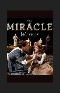 The Miracle Worker, Circle In The Square Theatre, NYC Show Poster