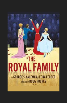 The Royal Family, Samuel J Friedman Theatre, NYC Show Poster