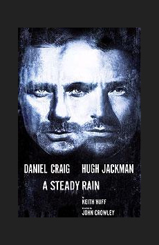 A Steady Rain,, NYC Show Poster