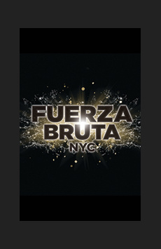Fuerza Bruta, Daryl Roth Theatre, NYC Show Poster