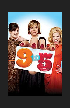 9 to 5, Marquis Theatre, NYC Show Poster