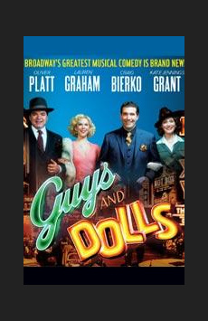 Guys and Dolls,, NYC Show Poster