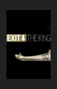 Exit the King,, NYC Show Poster