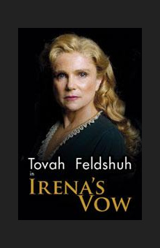 Irena's Vow,, NYC Show Poster
