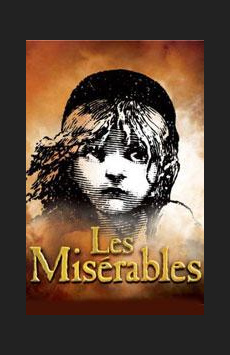 Les Miserables,, NYC Show Poster