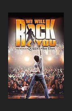 We Will Rock You,, NYC Show Poster