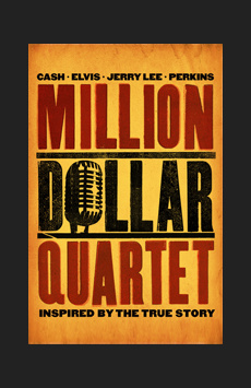 Million Dollar Quartet, New World Stages - Stage Four, NYC Show Poster