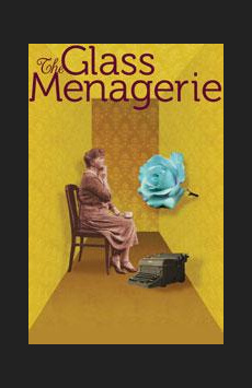 The Glass Menagerie, Laura Pels Theatre, NYC Show Poster