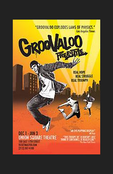Groovaloo, Union Square Theatre, NYC Show Poster