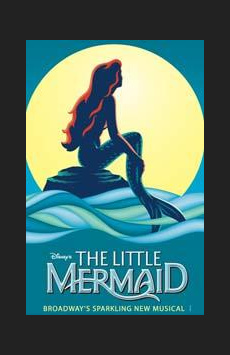 The Little Mermaid, Lunt-Fontanne Theatre, NYC Show Poster