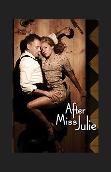 After Miss Julie,, NYC Show Poster