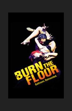 Burn the Floor, Longacre Theatre, NYC Show Poster