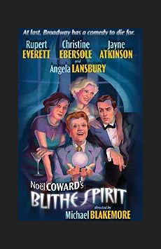 Blithe Spirit, Shubert Theatre, NYC Show Poster