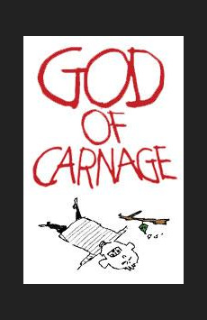 God of Carnage,, NYC Show Poster