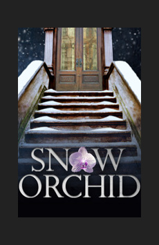 Snow Orchid, The Lion Theatre (Theatre Row), NYC Show Poster