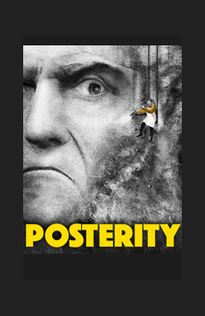 Posterity, Atlantic Theater Company, NYC Show Poster