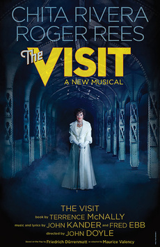 The Visit, Lyceum Theatre, NYC Show Poster
