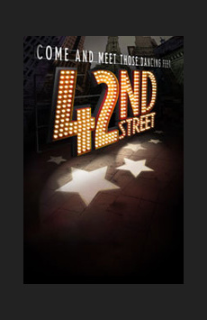 42nd Street ,, NYC Show Poster