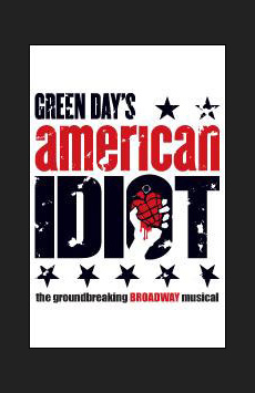 American Idiot,, NYC Show Poster