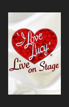 I Love Lucy - Washington, D.C., Warner Theatre, NYC Show Poster