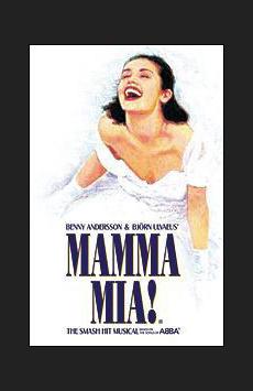 Mamma Mia,, NYC Show Poster