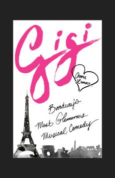 Gigi, Neil Simon Theatre, NYC Show Poster
