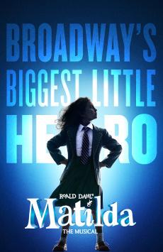 Matilda, Shubert Theatre, NYC Show Poster