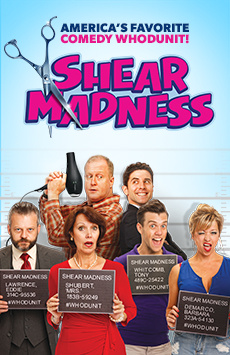 Shear Madness, Davenport Theatre, NYC Show Poster