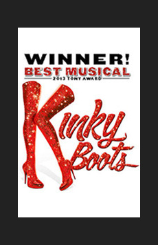 Kinky Boots, Al Hirschfeld Theatre, NYC Show Poster