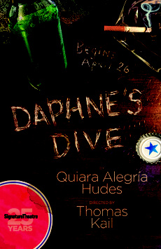 Daphne's Dive, Romulus Linney Courtyard Theatre at The Pershing Square Signature Center, NYC Show Poster