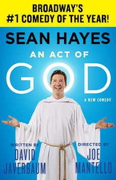 An Act of God, Booth Theatre, NYC Show Poster