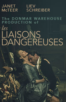 Les Liaisons Dangereuses, Booth Theatre, NYC Show Poster