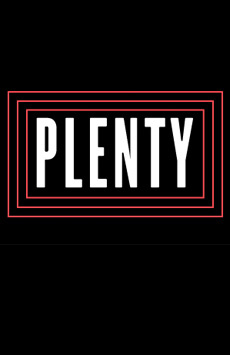 Plenty, Joseph Papp Public Theater/Newman Theater, NYC Show Poster