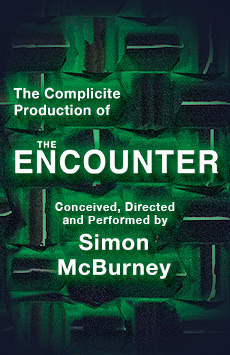 The Encounter, John Golden Theatre, NYC Show Poster