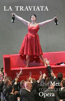 Metropolitan Opera: La Traviata, The Metropolitan Opera, NYC Show Poster