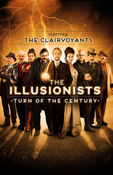 The Illusionists - Turn of the Century, Palace Theatre, NYC Show Poster