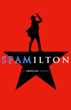 Spamilton, Puerto Rican Traveling Theater, NYC Show Poster