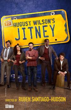 Jitney, Samuel J Friedman Theatre, NYC Show Poster