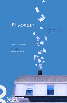 If I Forget, Laura Pels Theatre, NYC Show Poster