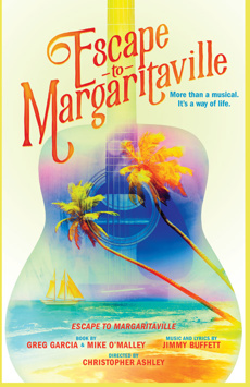 Escape to Margaritaville, Marquis Theatre, NYC Show Poster