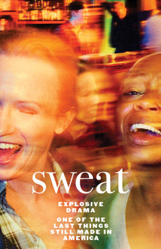 Sweat, Studio 54, NYC Show Poster