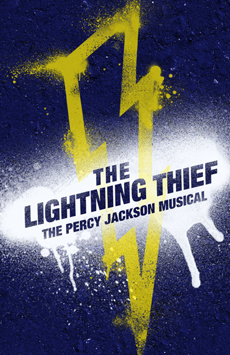 The Lightning Thief, Lucille Lortel Theatre, NYC Show Poster