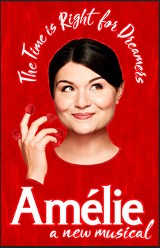Amelie, Walter Kerr Theatre, NYC Show Poster