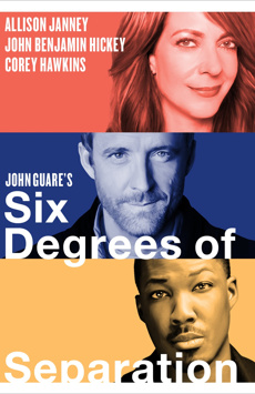 Six Degrees of Separation, Ethel Barrymore Theatre, NYC Show Poster