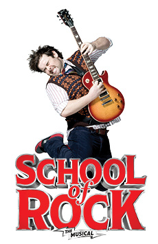 School of Rock—The Musical,, NYC Show Poster